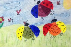 Color Bugs- lesson in color mixing