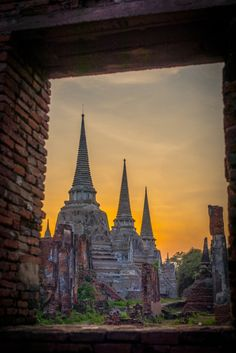 Photograph Ayuthaya Thailand by Kittisak Somjaipheng on 500px