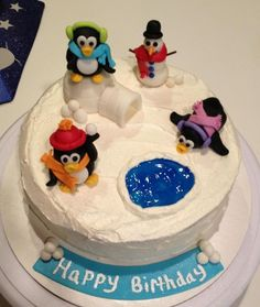 penguin+birthday+cake | penguin birthday cake — Birthday Cakes