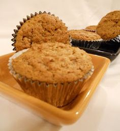 Peanut Butter and Banana Muffin Recipe! With Nutrition Facts