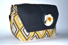 Xtra Large Women's Camera bag Made in the USA Darby by DarbyMack