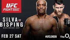 Blog Esportivo do Suíço:  UFC anuncia volta de Anderson Silva para encarar Bisping em fevereiro