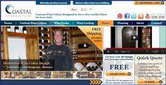 Wine Cellars by Coastal Intro to our Custom Wine Cellars Website