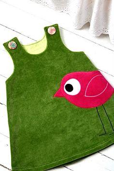 bird dress, super cute
