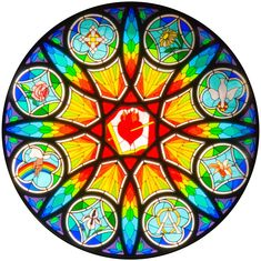 St Joseph Church Rose Window | St. Augustine Parish - we still have business...let's get this annulled please.
