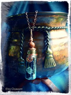 A Witch's Protection- Bottle Necklace