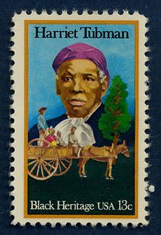 Harriet Tubman was featured on the first U.S. postage stamp to honor an African American woman. Issued on February 1, 1978.