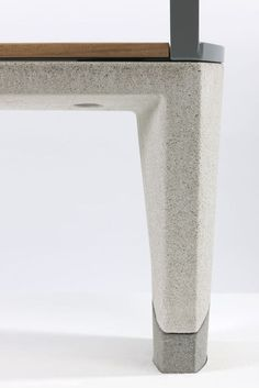 Durability Complimented by Refinement: Concrete Street Furniture Range