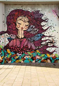 Artist ; Pau Quintanajornet – New Mural in Amsterdam