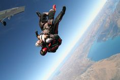 Twitter / richussher: Shot from the Skydive yesterday ...