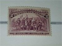 US 1893 Landing of Columbus Puzzles, Plugs, Stamp Auctions, Red Giant, Blue Ribbon, Landing, Antiques, Antiquities, Antique