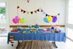 Como organizar uma festa de aniversário gastando pouco | Dona Giraffa