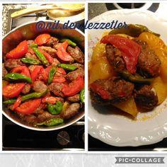 """73 Beğenme, 0 Yorum - Instagram'da Nil'den Lezzetler (@nil.den.lezzetler): """"İyi akşamlar arkadaşlar, yarın için pratik bir tarifim var size. Hele ki hazırda köfteniz varsa…"""" Beef, Instagram, Food, Meat, Essen, Meals, Yemek, Eten, Steak"""