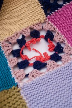 Granny Square SOS! Rescue an unraveling crochet granny with this helpful photo tutorial from Monty.