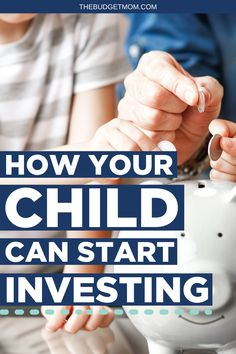 It's not too early to start helping your child build their financial future. If you want to help your child start investing, here are the steps you'll take to get started. #investing via @thebudgetmom Ways To Save Money, Money Tips, Money Saving Tips, Financial Quotes, Financial Success, Budgeting Worksheets, Budgeting Tips, Saving For College, Managing Your Money