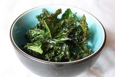 Kale Chips: super simple and healthy snack! GET IT: http://www.peta.org/living/food/kale-chips/ #vegansnacks #healthysnacks #easyrecipe