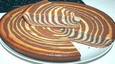 Zebra koláč ze zakysané smetany s nejrychlejší přípravou!   Milujeme recepty