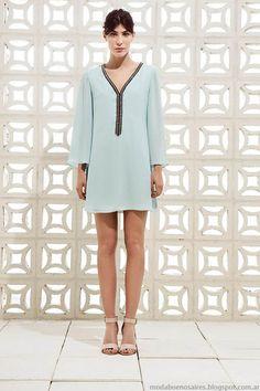 Vestidos colección Clara primavera verano 2015. Moda y Tendencias en Buenos Aires Blog de Moda Argentina.