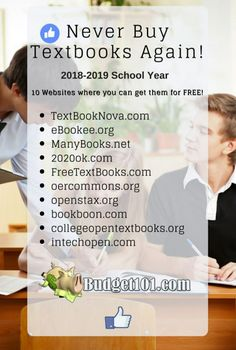 Cheap or Free College Text Books Where to get Cheap or Free Textbooks for College- 12 tried and true places for free books plus tips on discounted books The post Cheap or Free College Text Books appeared first on School Diy. College Life Hacks, Life Hacks For School, School Study Tips, College Tips, School Tips, College Planning, College School, Study College, Junior College