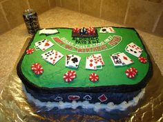 Poker Cake - Continued!