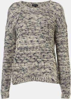 Topshop 'Tweedy' Drop Stitch Sweater - Polyvore