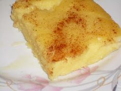 Greek Sweets, Greek Desserts, Easy Desserts, Old Recipes, Greek Recipes, Recipies, Sweet Pie, International Recipes, Vanilla Cake