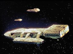 From the Battlestar Galactica archives Fantasy Model, Sci Fi Fantasy, The Stars My Destination, 80s Sci Fi, Battlestar Galactica 1978, 70s Tv Shows, Sci Fi Ships, Geek Culture, Big Bang Theory