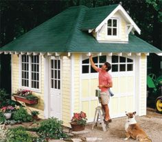 Build a New Storage Shed with One of These 25 Free Plans: Cottage Storage Shed Free Shed Plan
