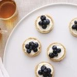 Mini Blueberry Lemon Tarts
