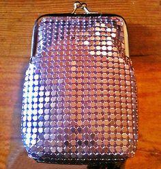 Eclipse Soft Mesh Light Purple King Size Fashion Cigarette Case