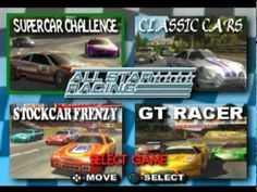 Free Download All Star Racing PSX