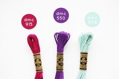 Embroidery Bracelets a DMC embroidery floss palette. (I love a good excuse to pull the colors out to play!) - a DMC embroidery floss palette. (I love a good excuse to pull the colors out to play! Thread Bracelets, Embroidery Bracelets, Cross Stitch Thread, Cross Stitch Embroidery, Cross Stitch Designs, Cross Stitch Patterns, Blue Color Schemes, Color Combos, Wild Olive