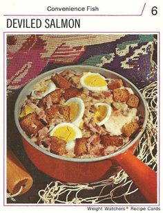 Sweet Jeebus!  Catfood, Croutons, and hard boiled eggs!