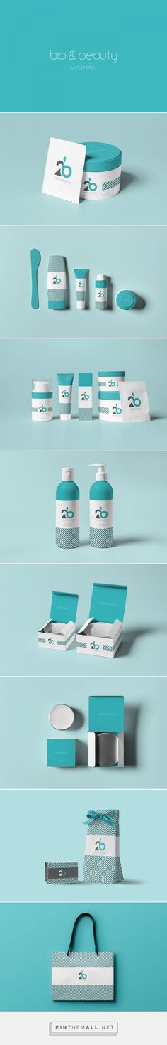 2b // Bio & Beauty packaging branding on Behance by Maurizio Pagnozzi London, UK curated by Packaging Diva PD Logo is to showcase 2B as a symbol taken from both starting letters of Bio and Beauty.