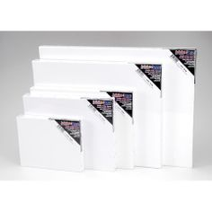 ConsumerCrafts Product Blank Prestretched Artist Canvas: 11 x 14 inches, 2 pack