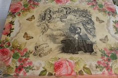 Objetos  en decoupage, Vintage y Shabby Chic