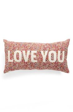 Cozy up with your loved with with this adorable pillow!