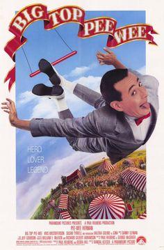Big Top Pee-wee 11x17 Movie Poster (1988)