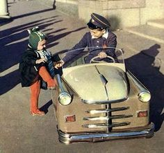 soviet pedal auto for kids