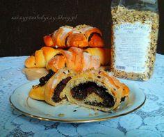 Rogale nie- marcińskie (ciasto z musem z dyni) PRZEPIS