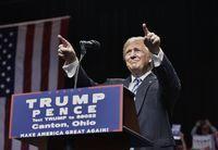 Élections américaines: à 53 jours du vote Trump refait son retard sur Clinton
