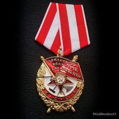 RUSSIAN NON SILVER SOVIET LENIN TREASURY REVOLUTION AWARD PIN MEDAL RED STAR WAR