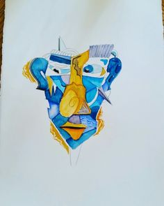 In progress. Watercolor painting. #painting #art #watercolor #aset design