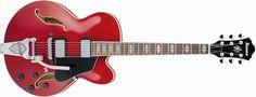 Sonigate :: Guitarra IBANEZ AFS75T Transparent Red : Guitarra Eléctrica