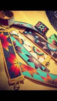 Seed Bead Patterns, Beaded Jewelry Patterns, Beading Patterns, Native Beadwork, Native American Beadwork, Beaded Belts, Beadwork Designs, Bead Loom Bracelets, Seed Bead Jewelry