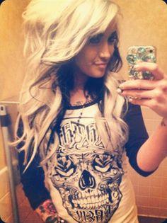 Ughhhh I want my hair like that