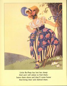 Vintage book illustration, via Etsy.