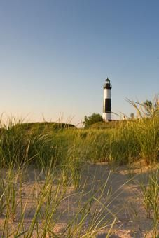 Lighthouse in Ludington #puremichigan