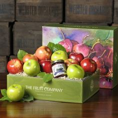 Apples and Honey Gift Box