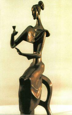 'Hourglass' - Ion Irimescu (1903-2005)